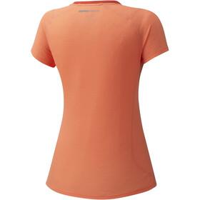 Mizuno Dry Aeroflow Camiseta Mujer, naranja